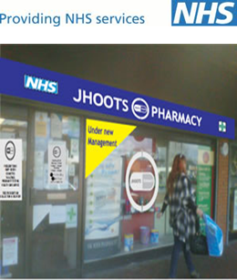 Pharmacy place england